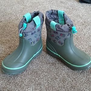 Toddler boy or girl boots -- rain or snow